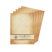 Aged Parchment Stationery & Scroll Paper-8.5x11""