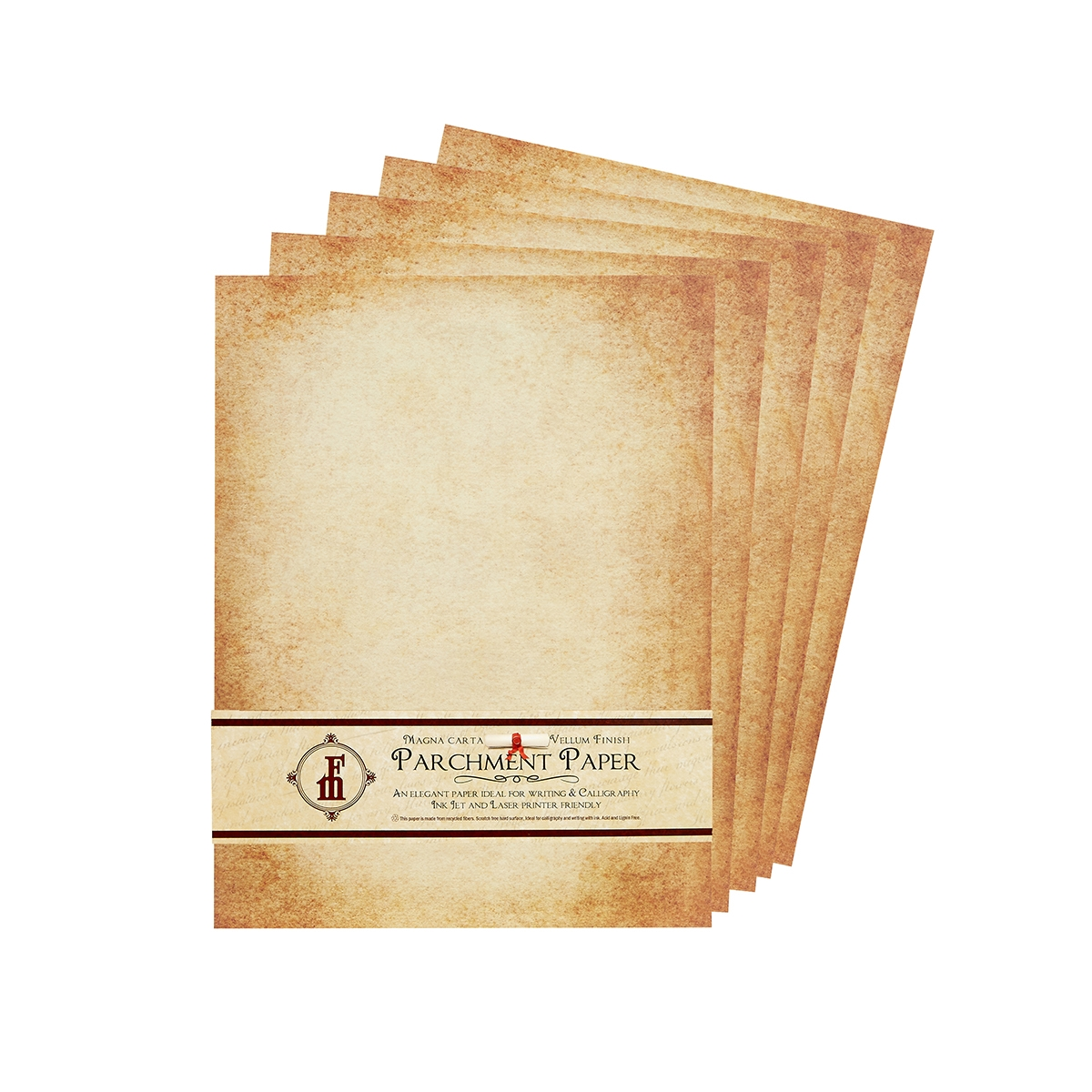 aged parchment stationery great for certificates menus scrolls