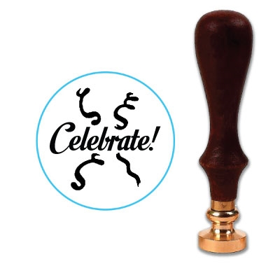 Celebrate Wax Seal Stamp # 1301