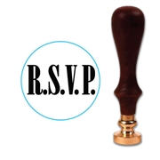 RSVP Wax Seal Stamp # 1303