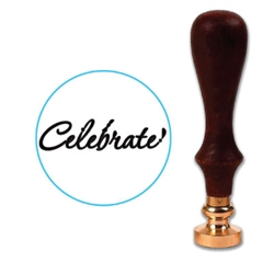Celebrate Wax Seal Stamp # 1352