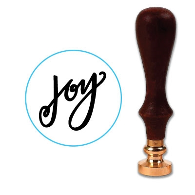 Joy Wax Seal Stamp # 1355