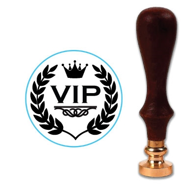 VIP 2 Wax Seal Stamp # 1363
