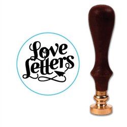 Love Letters Wax Seal Stamp # 1378