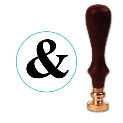 Ampersand Wax Seal Stamp # 2603A