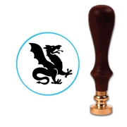 Heraldry Dragon 4 Wax Seal Stamp # 2694