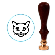 Cat Wax Seal Stamp # 3200