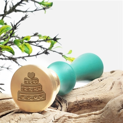 Wedding Cake Wax Seal Stamp # 325