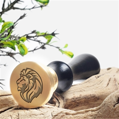 Lion Head Wax Seal Stamp # 3301