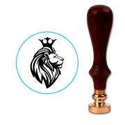 Royal Lion Head Wax Seal Stamp # 3303
