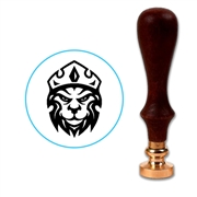 Lion Head With Crown Wax Seal Stamp # 3307