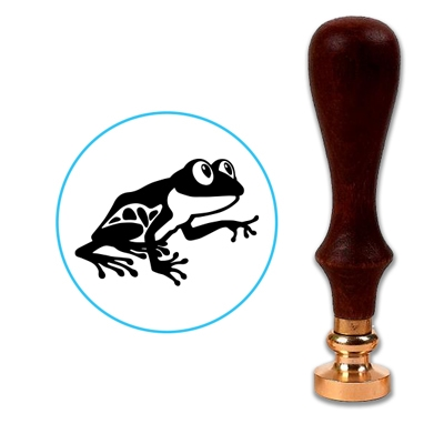 Frog 2 Wax Seal Stamp # 3352