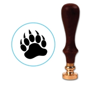 Grizzly Bear Paw Wax Seal Stamp # 3414
