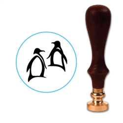 Penguins Wax Seal Stamp # 3513