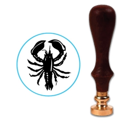 Lobster Wax Seal Stamp # 3606