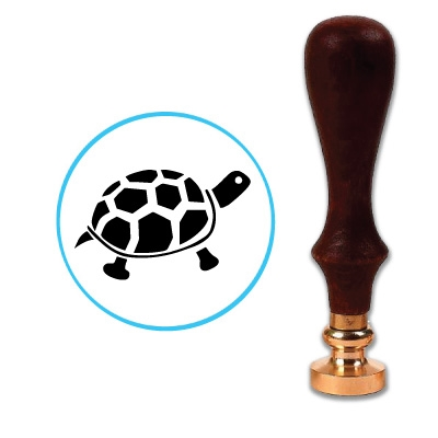 Turtle 1 Wax Seal Stamp # 3607