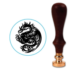 Dragon 6 Wax Seal Stamp # 4006