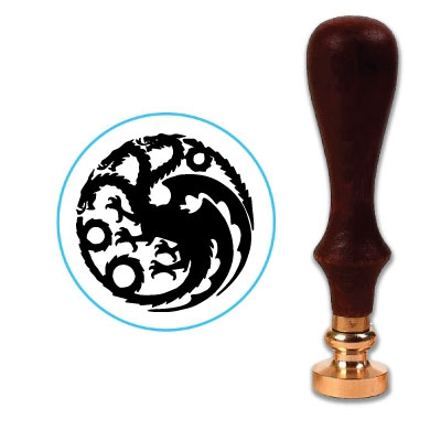 House Targaryen Wax Seal Stamp # 4009