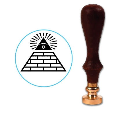 Pyramid Wax Seal Stamp # 4440