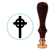 Celtic Cross Wax Seal Stamp # 4603