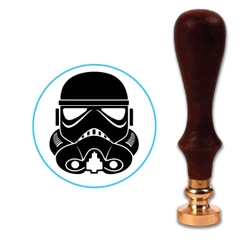 Star Wars - Storm Trooper Wax Seal Stamp # 4910