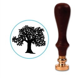 Tree 2 Wax Seal Stamp # 5203