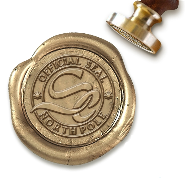 Official North Pole Seal Wax Seal Stamp # 5501