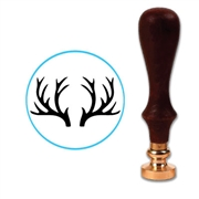 Antlers Wax Seal Stamp # 5502