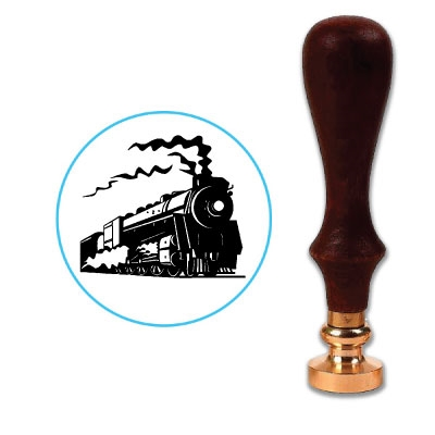 Train Wax Seal Stamp # 5757