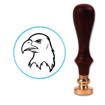 Bald Eagle Wax Seal Stamp # 6020