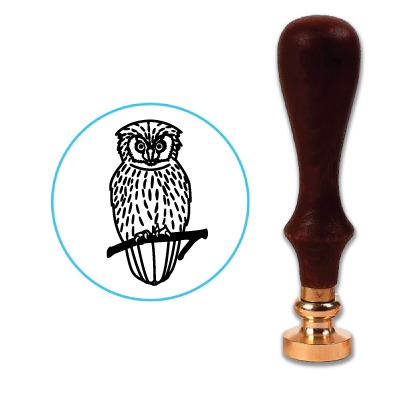 Hedwig Owl Wax Seal Stamp # 701
