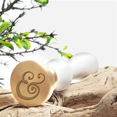 Curvy Ampersand Wax Seal Stamp # 7026