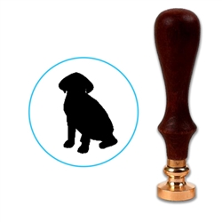 Dog - Beagle Wax Seal Stamp # D517