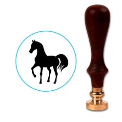 Horse 1 Wax Seal Stamp # D524
