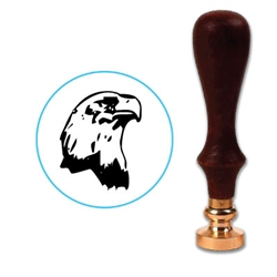 Eagle 2 Wax Seal Stamp # D526