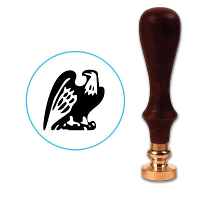 Eagle 1 Wax Seal Stamp # D527