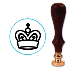 Chess King Wax Seal Stamp # D721