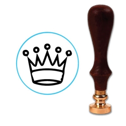Chess Queen Wax Seal Stamp # D724