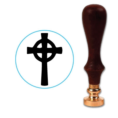 Cross 1 Wax Seal Stamp # D826