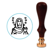 Virgin Mary Wax Seal Stamp # D830
