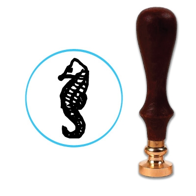 Sea Horse Wax Seal Stamp # D846