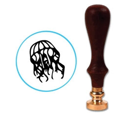 Jellyfish Wax Seal Stamp # D849