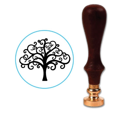 Tree 5 Wax Seal Stamp # D886