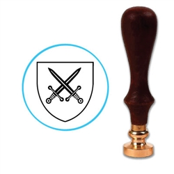 Swords Wax Seal Stamp # H111
