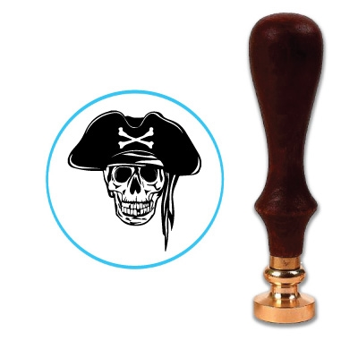 Pirate 2 Wax Seal Stamp # R1068