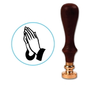 Praying Hands Wax Seal Stamp # R1082
