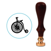 Antique Bicycle Wax Seal Stamp # R556