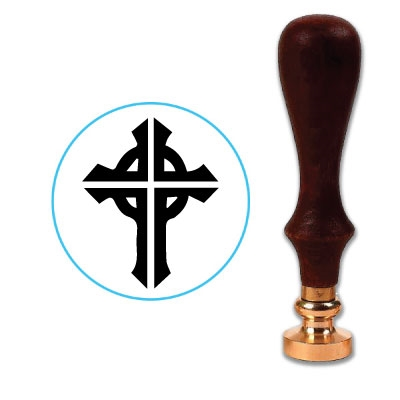 Celtic Cross Wax Seal Stamp R5891