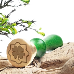 Clover 1 Wax Seal Stamp # R599