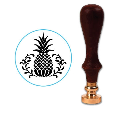 Pineapple Wax Seal Stamp # R677